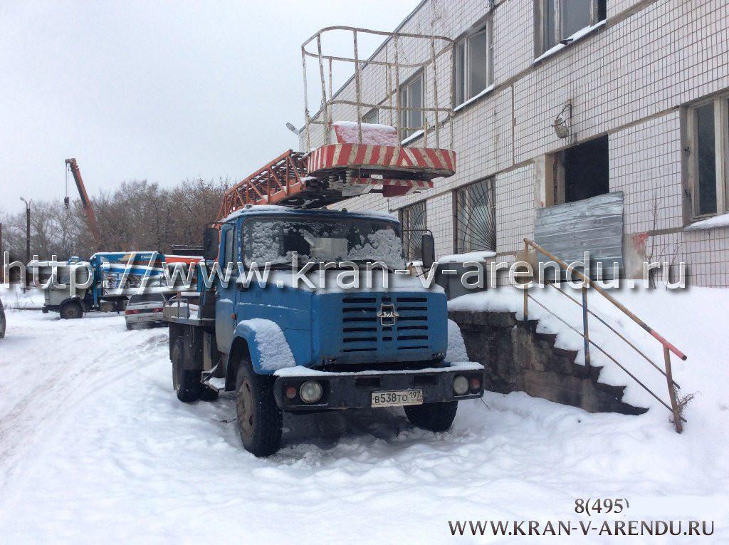 Аренда автовышки 18 метров в Москве