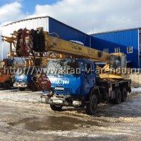 Автокран 25 тонн со стрелой 28 м