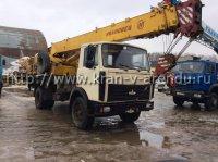 Автокран 16 тонн со стрелой 18 метров