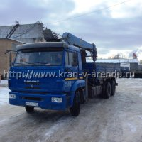 Кран манипулятор DONG YANG 5 тонн на базе Камаз 9 тонн