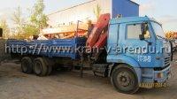 Кран манипулятор palfinger -15500a 7 тонн на базе Камаз 9 тонн