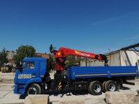 Кран манипулятор Галичанин 7 т на базе КАМАЗ 65115-42